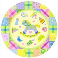 Baby Theme Round Fine-Art Print