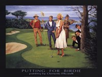 Putting for Birdie Fine-Art Print