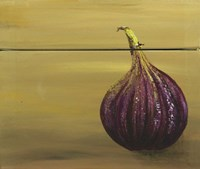 Red Onion on a box Fine-Art Print