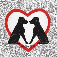PuppyLove Valetines Fine-Art Print