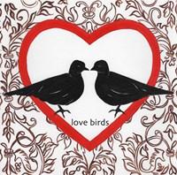 Love Birds Valetines Fine-Art Print