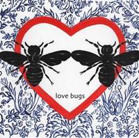 Love Bugs Valetines Fine-Art Print