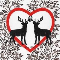 My Deer Valetines Fine-Art Print