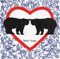 Bear Hugs Valetines Fine-Art Print