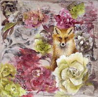 Hiding Fox Fine-Art Print