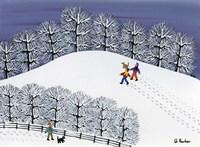 Snow Treck Fine-Art Print