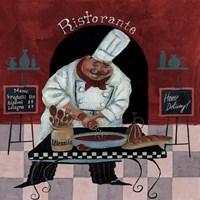Chef Kitchen Menus Fine-Art Print