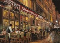 Bistrot Champollion Fine-Art Print