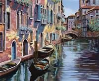 Venezia in Rosa Fine-Art Print