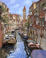 Il Gatto Nero a Venezia Fine-Art Print
