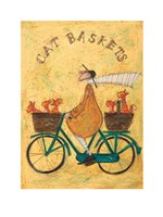 Cat Baskets Fine-Art Print