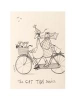 The Cat Taxi Fine-Art Print
