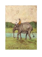 Two Riders Fine-Art Print