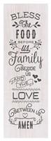 Food, Family, Love Fine-Art Print