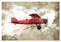 Biplane 3 Fine-Art Print