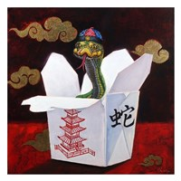 Takeout with a Twist Fine-Art Print