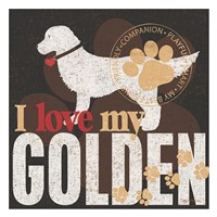 Golden Fine-Art Print
