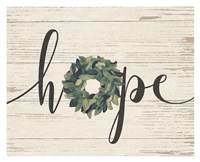 Hope Wreath Fine-Art Print