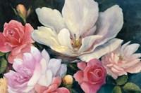 Flemish Fantasy Rose Crop Fine-Art Print