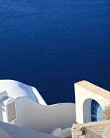 Santorini II Crop Fine-Art Print