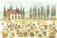 Tuscan Elegance I Fine-Art Print