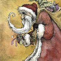 Santa VI Fine-Art Print