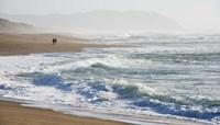 A Walk On The Beach Fine-Art Print