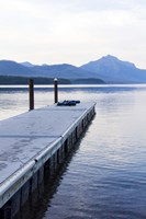 Lake McDonald Pier Fine-Art Print