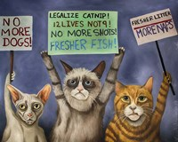 Cats On Strike Fine-Art Print
