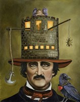 Edgar Allan Poe Fine-Art Print