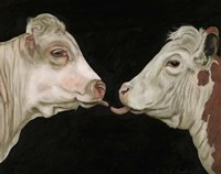 Cow Lick Fine-Art Print