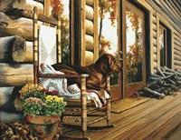 The Back Porch Rocker Fine-Art Print
