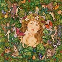 Fairies In The Ivy Fine-Art Print