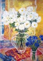 White Chrysanthemums Fine-Art Print
