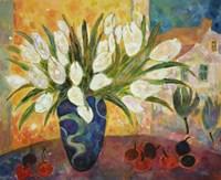 Tulips And Cherries Fine-Art Print