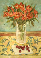 Orange Flowers Fine-Art Print