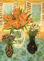 Flowers On A Table Fine-Art Print