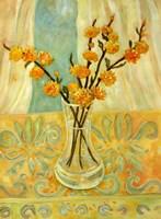 Orange Blossom On A Lemon Cloth Fine-Art Print