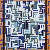 Orange & Blue Fine-Art Print