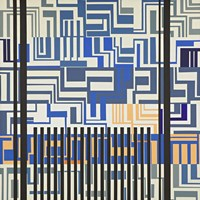Gray & Blue Fine-Art Print