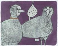 Party Birds, Incognito 11 Fine-Art Print
