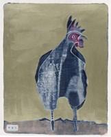 Dark Rooster 2 Fine-Art Print