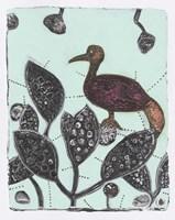 Puzzled Red Bird 17 Fine-Art Print