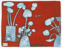 3 Blue Bouquets 9 Fine-Art Print