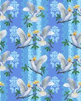 Cockatoos (Pattern) Fine-Art Print