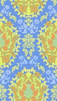 Blue & Yellow (Pattern) Fine-Art Print