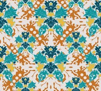 Teal & Orange (Pattern) Fine-Art Print