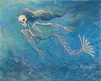 Skelly Mermaid Fine-Art Print