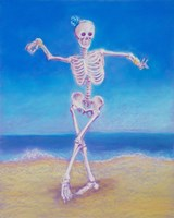 Skelly Dancer I Fine-Art Print