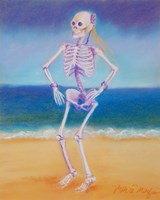 Skelly Dancer II Fine-Art Print